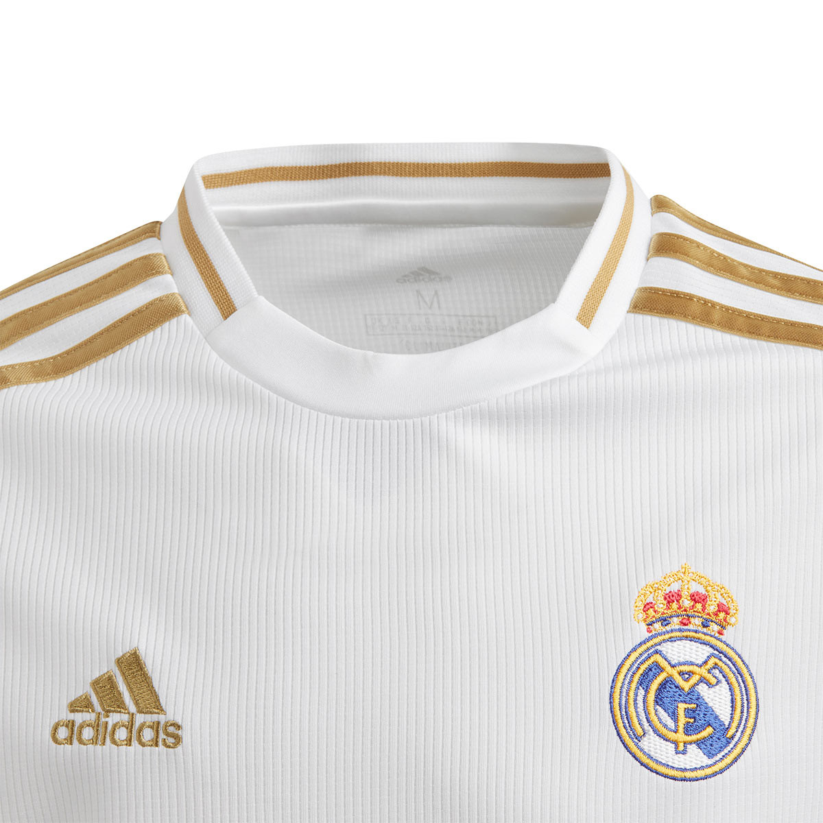Camisa Adidas Real Madrid 20192020 I Branca Infantil