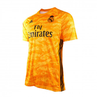 Maillot  adidas Real Madrid Gardien Domicile 2019-2020 Enfant Collegiate gold