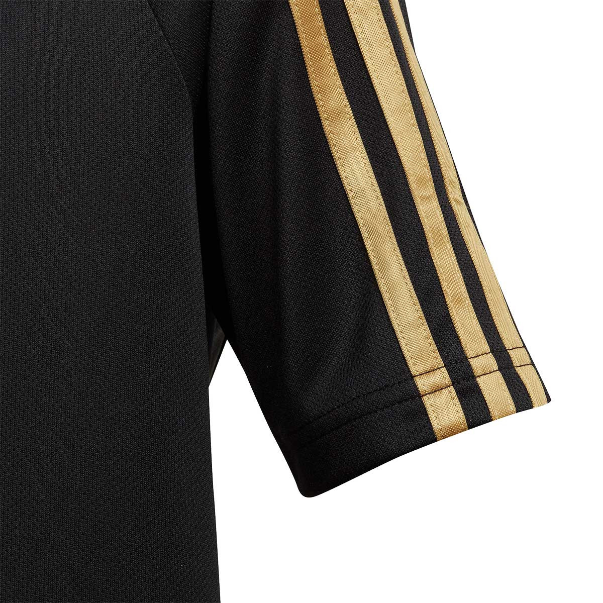 buy online 6c8c5 1d996 Camiseta Real Madrid Training 2019-2020 Niño Black-Dark football gold