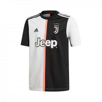 Maglia adidas Juventus maglia Stagione 2019-2020 Bambino Black-White