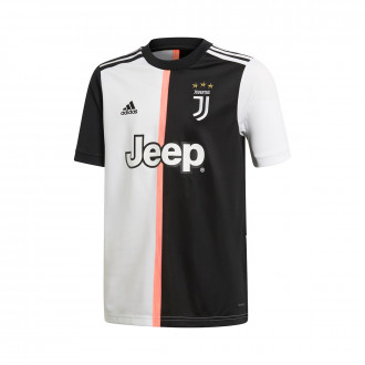Camiseta  adidas Juventus Primera Equipación 2019-2020 Niño Black-White