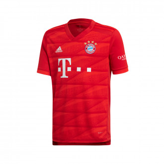 Jersey  adidas Kids Bayern Munich 2019-2020 Home True Red