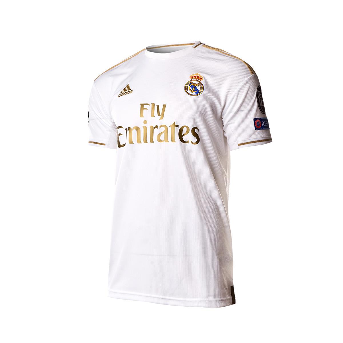 Camiseta adidas Real Madrid EU Primera Equipación 2019 2020 Niño