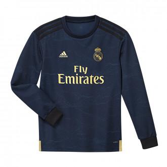 bd8c5e9c35813 Jersey adidas Real Madrid Segunda Equipación 2019-2020 Niño LS Night indigo