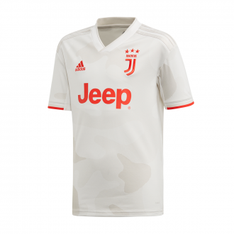 Maglia adidas Juventus Secondo completo  2019-2020 Bambino Core white-Raw White