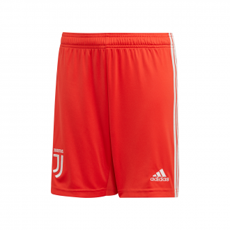 Shorts adidas Kids Juventus 2019-2020 Away HI-Res Red-Raw White