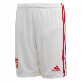Shorts  adidas Arsenal FC Primera Equipación 2019-2020 Niño White