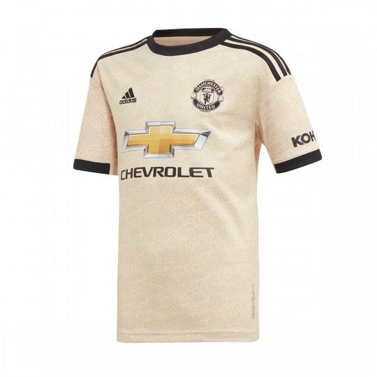 Maglia adidas Manchester United Seconda divisa 2019-2020 Bambino Linen