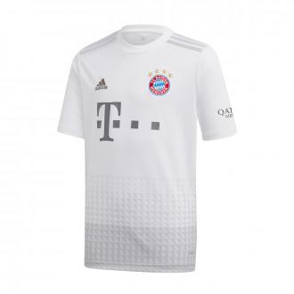 Playera adidas Bayern Munich Segunda Equipación 2019-2020 Niño White