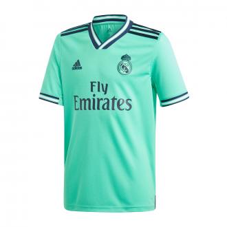 Maillot adidas Real Madrid Third 2019-2020 Enfant HI-Res green