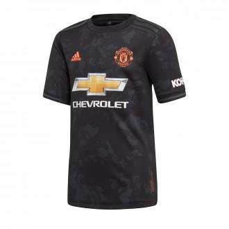 Playera adidas Manchester United FC Tercera Equipación 2019-2020 Niño Black