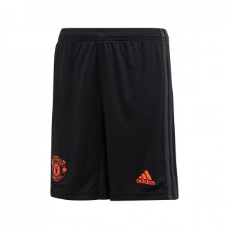 Shorts adidas Manchester United FC Tercera Equipación 2019-2020 Niño Black