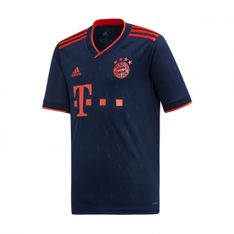 Playera adidas Bayern Munich Tercera Equipación 2019-2020 Niño Collegiate navy-Bright Red