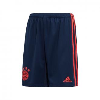 Short adidas Bayern Munich Tercera Equipación 2019-2020 Niño Collegiate navy-Bright Red