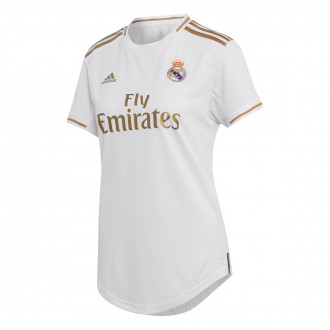 Playera  adidas Real Madrid Primera Equipación 2019-2020 Mujer White