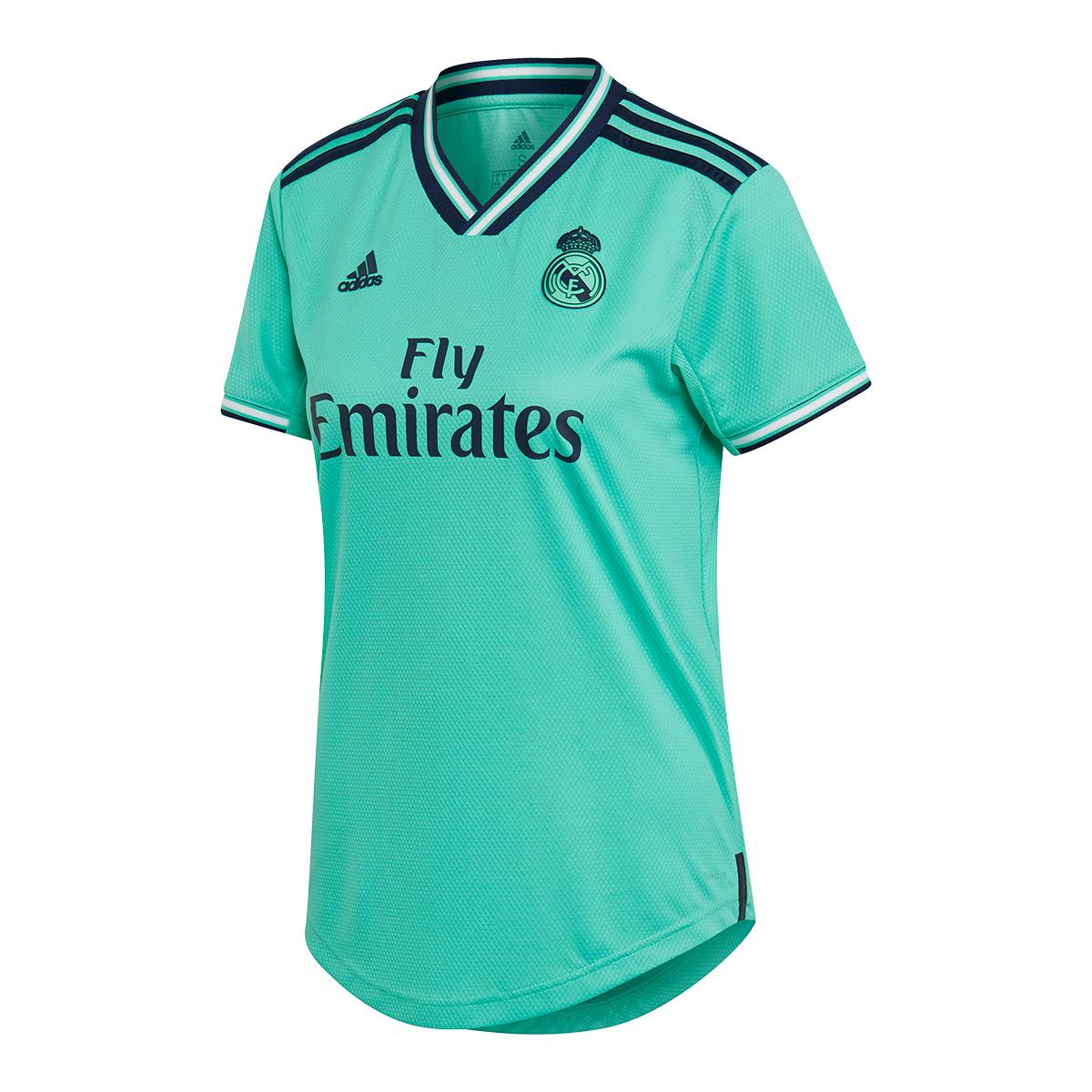 Camiseta adidas Real Madrid Tercera Equipación 2019 2020 Mujer