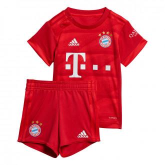 Conjunto adidas Bebe Bayern Munich Primera Equipación 2019-2020 True Red