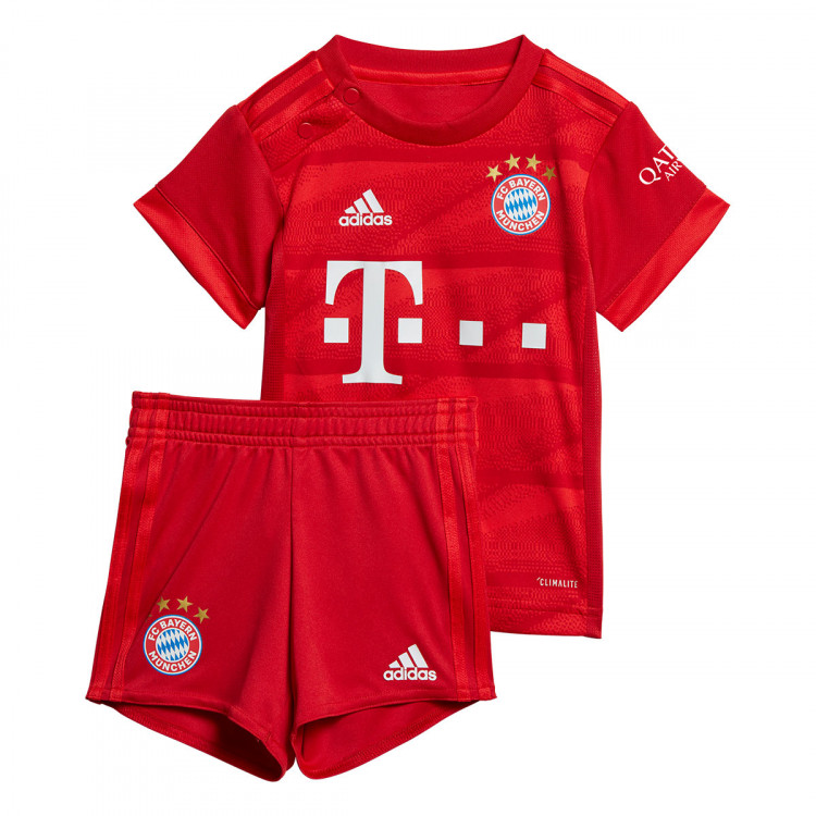 Kit Adidas Bebe Fc Bayern Munich Primera Equipacion 2019 2020 True Red Football Store Futbol Emotion