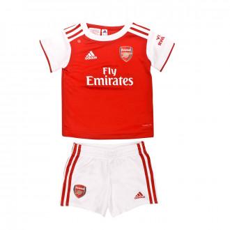 Conjunto adidas Bebe Arsenal FC Primera Equipación 2019-2020 Scarlet-White