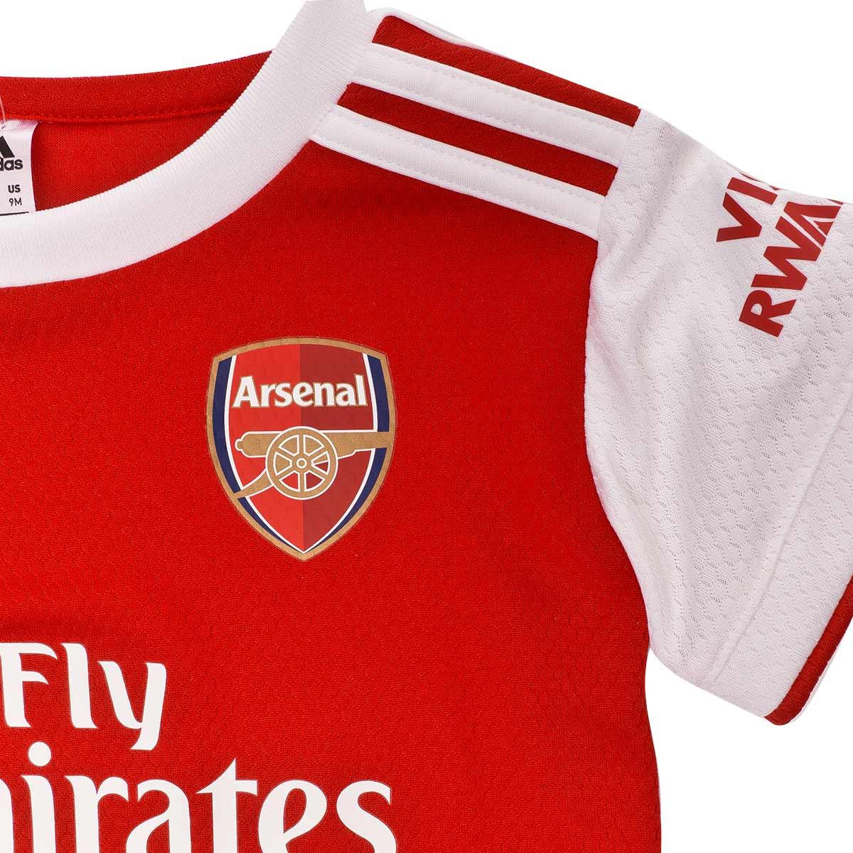 purchase cheap e5ef1 1fec4 Conjunto Bebe Arsenal FC Primera Equipación 2019-2020 Scarlet-White