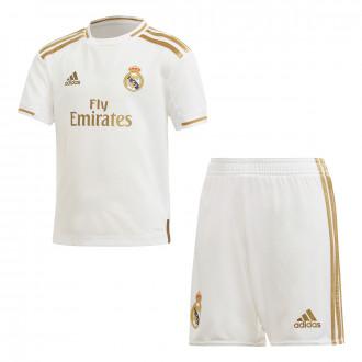 Kit adidas Kids Real Madrid 2019-2020 Home White