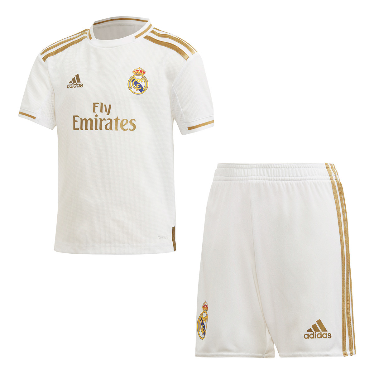 adidas Kids Real Madrid 2019 2020 Home Kit