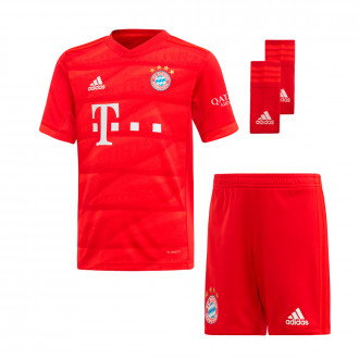 Kit  adidas Kids Bayern Munich 2019-2020 Home True Red