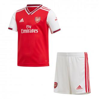 Conjunto adidas Arsenal FC Primera Equipación 2019-2020 Niño Scarlet