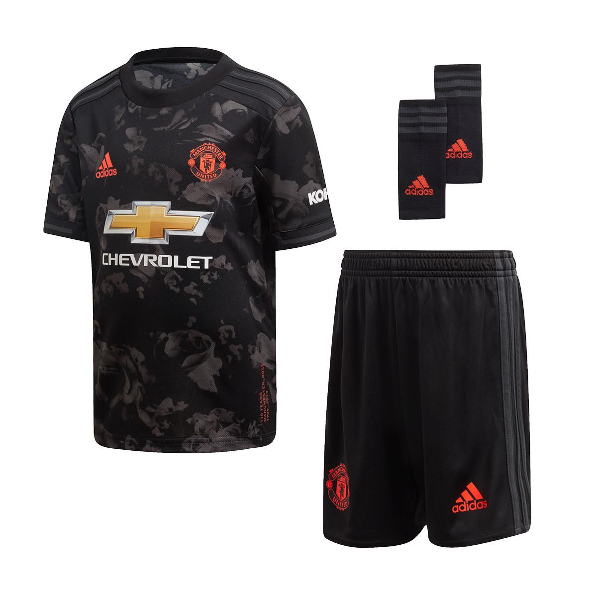 Tenue adidas Manchester United Third 2019 2020 Enfant