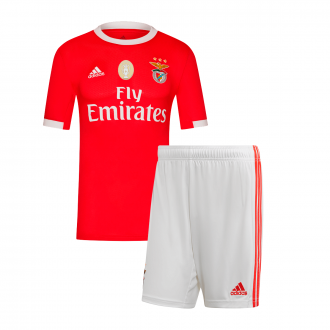 Kit  adidas SL Benfica Primera Equipación 2019-2020 Niño Benfica Red-White
