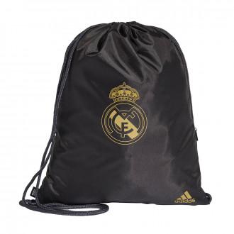 Bolsa  adidas Gym Sack Real Madrid 2019-2020 Black-Dark football gold
