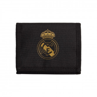 Cartera  adidas Real Madrid Wallet 2019-2020 Black-Carbon-Dark football gold