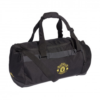Sac de sport  adidas Manchester United DU 2019-2020 Black-Solid grey-Bright yellow
