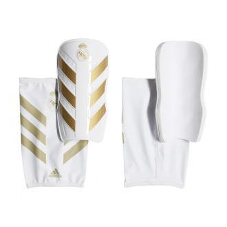 Shinpads adidas X Pro Real Madrid 2019-2020 White-Matte gold