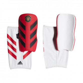 Caneleira adidas Classic Manchester United FC 2019-2020 Active maroon-Hi-Res Red-White