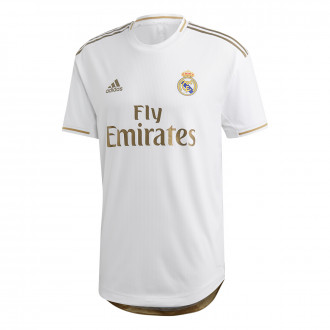Maillot  adidas Real Madrid Domicile Authentic 2019-2020 White