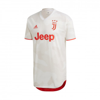 Jersey adidas Juventus Segunda Equipación Authentic 2019-2020 Core white-Raw White