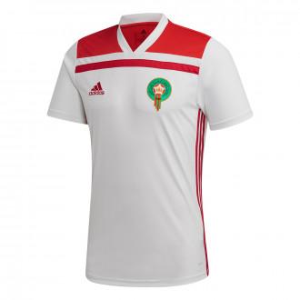 Jersey  adidas Selección Marruecos Segunda Equipación 2019-2020 White-Power red