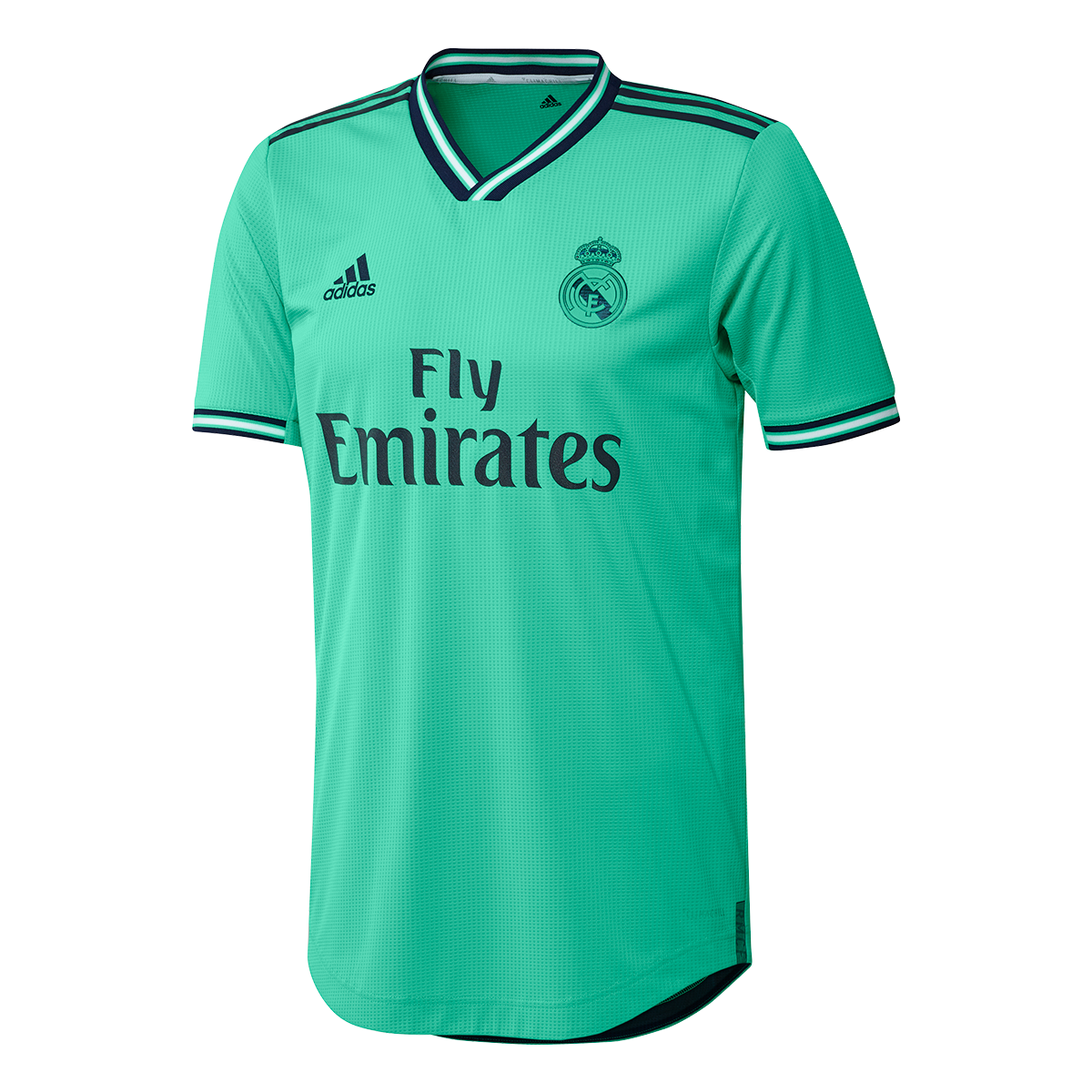 finest selection 80c66 ea9f0 Camiseta Real Madrid Tercera Equipación Authentic 2019-2020 HI-Re  green-Night indigo