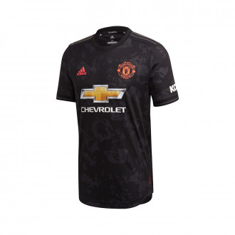 Camisola adidas Manchester United FC Equipamento Alternativo Authentic 2019-2020 Black