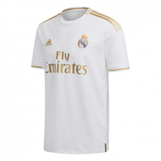 Maillot  adidas Real Madrid Domicile 2019-2020 White
