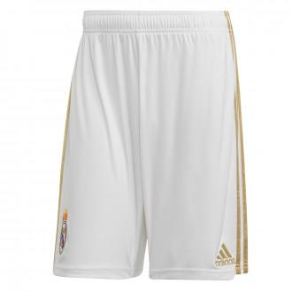 Pantaloncini  adidas Real Madrid Primera Equipación 2019-2020 White