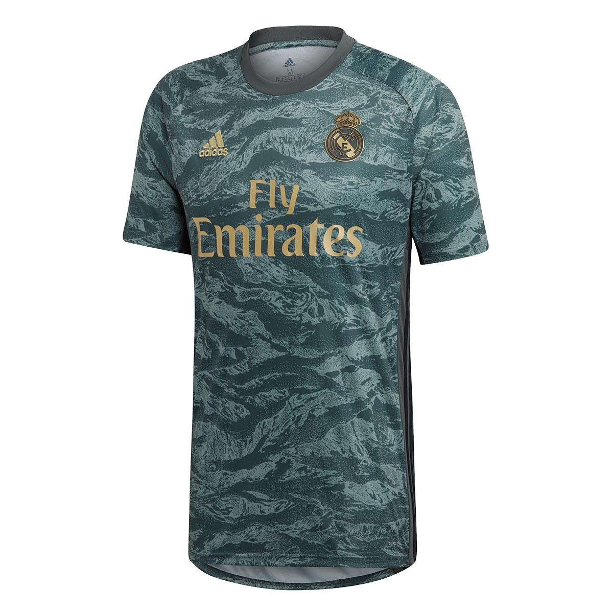Camisola adidas Real Madrid Guarda redes Equipamento Suplente 2019 2020