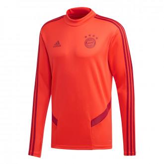 Sweatshirt  adidas Bayern Munich Training 2019-2020 Bright Red-Active maroon