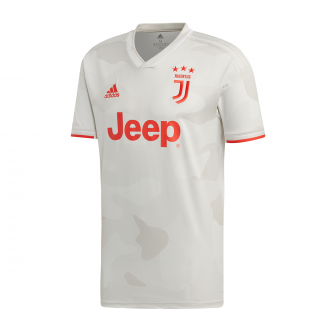 Maillot adidas Juventus Extérieure 2019-2020 Core white-Raw White