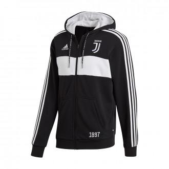 Jacket  adidas Juventus FZ HD 2019-2020 Black-White