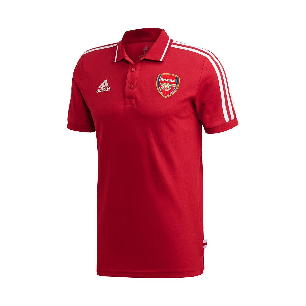 Picotear mudo lo mismo  Polo shirt adidas Arsenal FC 2019-2020 Active maroon - Football store  Fútbol Emotion