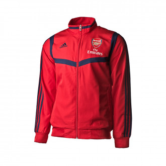 Chamarra adidas Arsenal FC Pre Match 2019-2020 Scarlet-Collegiate navy