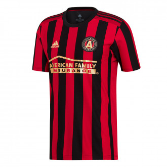 Maillot adidas Atlanta United Domicile 2019-2020 Black-Victory Red