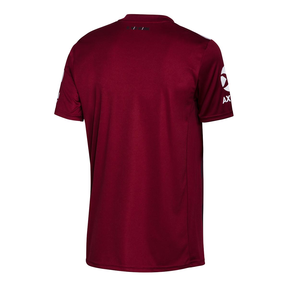 25521c06 Camiseta River Plate Segunda Equipación 2019-2020 Noble maroon-Clear onix